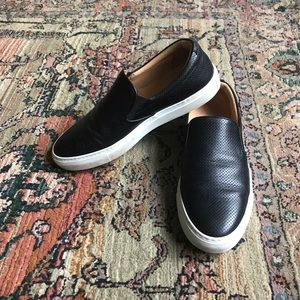 Greats Wooster perforated slip on sneaker size 10